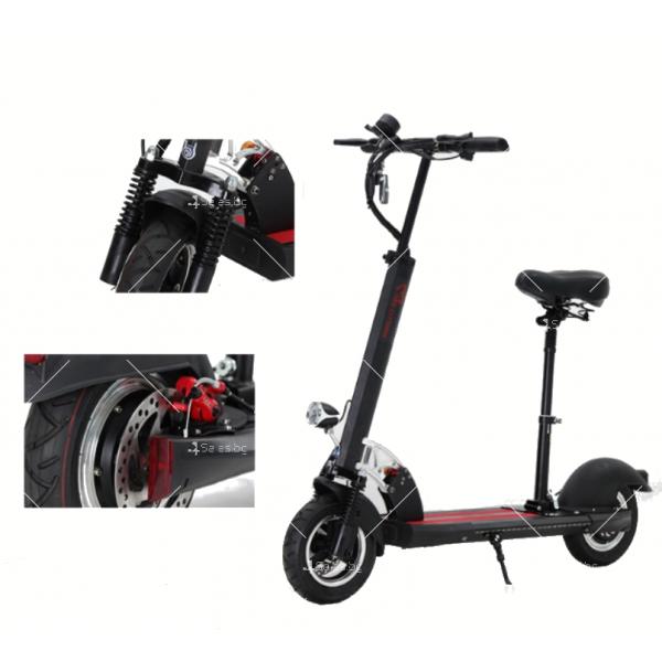 Електрически скутер с 10 инчови гуми сгъваем 3