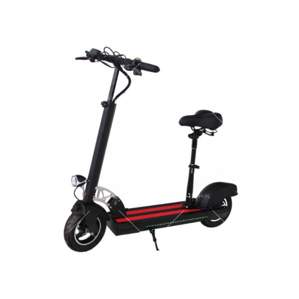 Електрически скутер с 10 инчови гуми сгъваем 4