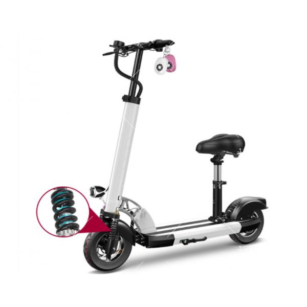 Електрически скутер с 10 инчови гуми сгъваем