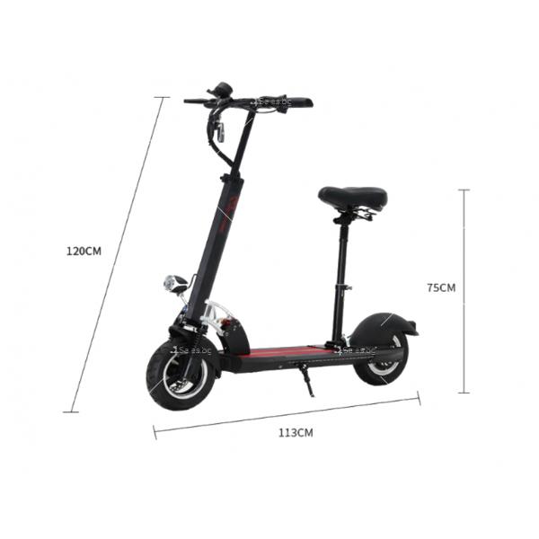 Електрически скутер с 10 инчови гуми сгъваем 7