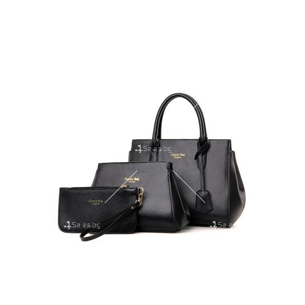 Комплект дамски чанти в три части Classic Bag BAG49 7