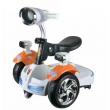 Детска електрическа кола с LED светлини 10