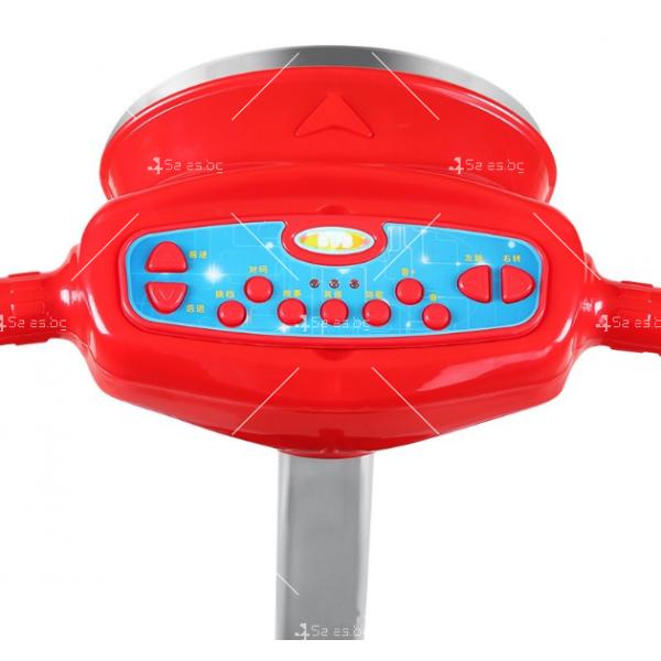 Детска електрическа кола с LED светлини 14