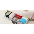 Чанта с декорация змийска кожа BAG38 16