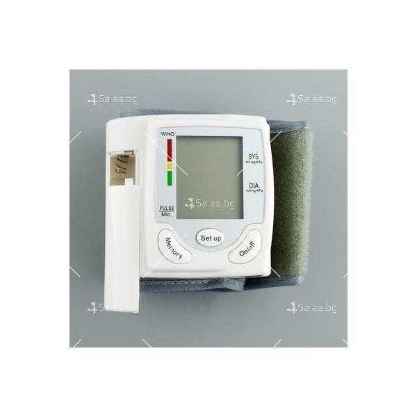 Апарат за измерване на кръвно налягане и пулс тип гривна TV120 2