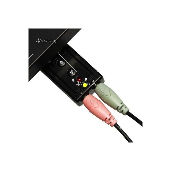 Външна звукова карта с USB CA60 2
