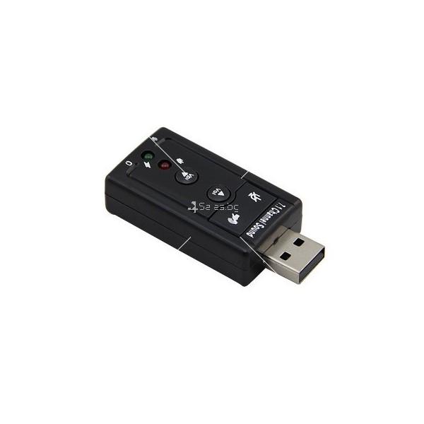 Външна звукова карта с USB CA60 4
