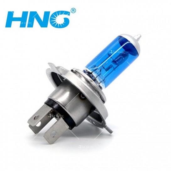 Имитиращи ксенон халогенни крушки HNG тип H4, 55 / 60 вата