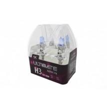 Халогенни крушки 55-ватови с кристално бяла светлина тип H3