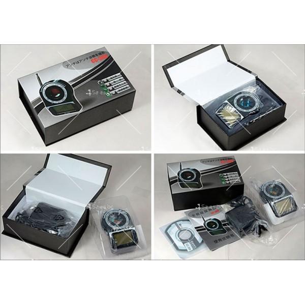 Детектор за камери и подслушвателни устройства CC309 5
