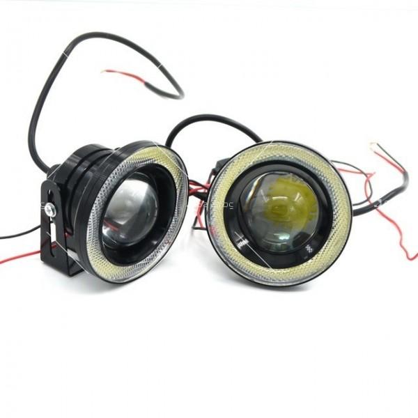 Лед халогени тип ангелски очи – 64 мм CAR LED21 1