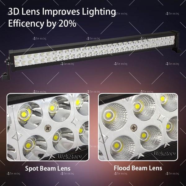 Лед бар 180 вата със 60 крушки и 15 000 лумена светлинен поток LDD BAR6 2