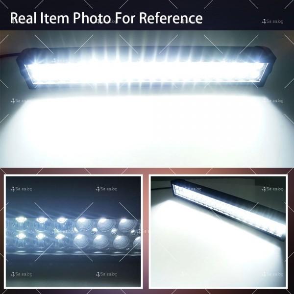 Лед бар 180 вата със 60 крушки и 15 000 лумена светлинен поток LDD BAR6 3