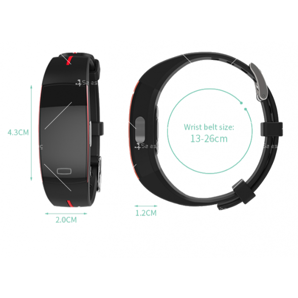 Bluetooth смарт гривна SMW37 10