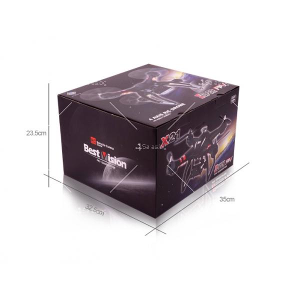 GPS дрон X21 6