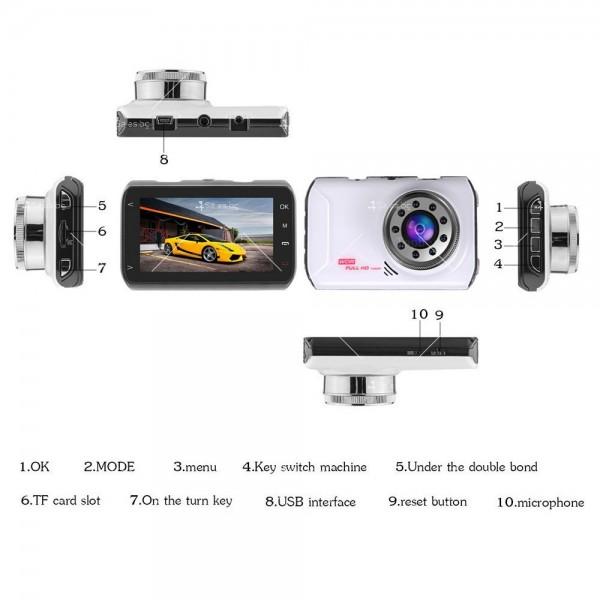 Видеорегистратор с две камери и 1080 Р резолюция AC71 4
