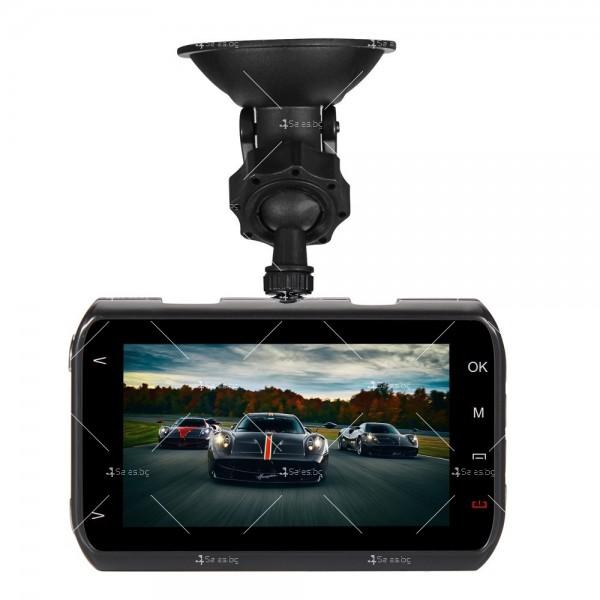 Видеорегистратор с две камери и 1080 Р резолюция AC71 6