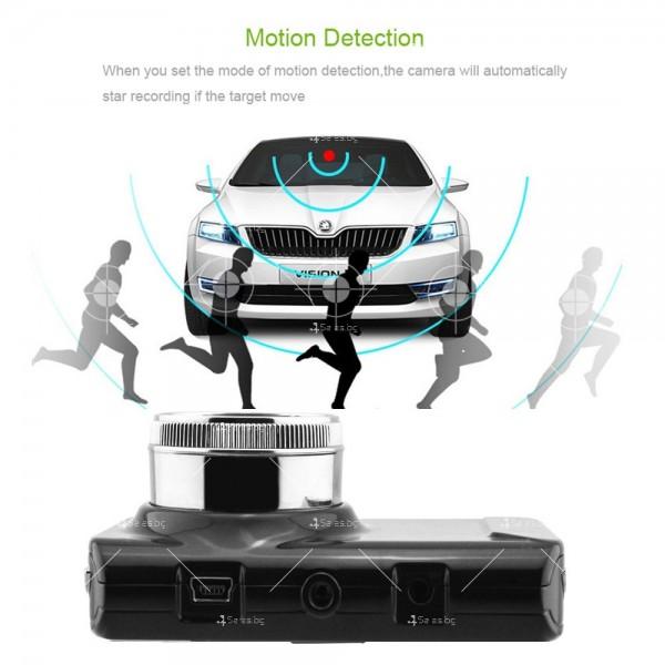 Видеорегистратор с две камери и 1080 Р резолюция AC71 9