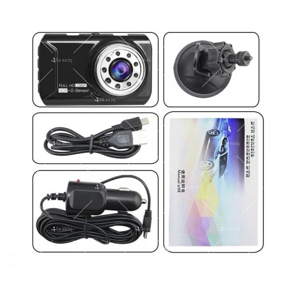Видеорегистратор с две камери и 1080 Р резолюция AC71 10
