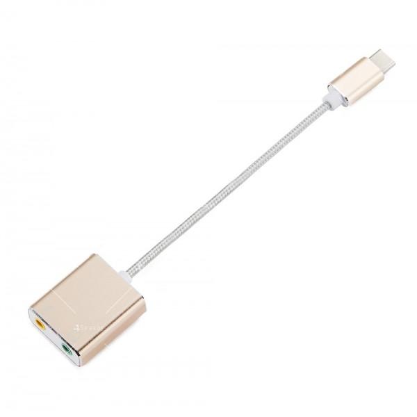 USB 3.1 звукова карта със 7.1 канален саунд CA49 1