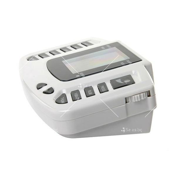 Инструмент за електротерапия на различни меридиани в тялото с акупунктура TV122 3
