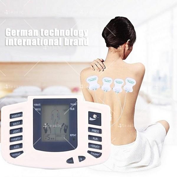 Инструмент за електротерапия на различни меридиани в тялото с акупунктура TV122 4