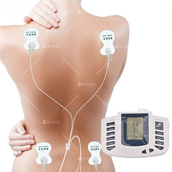 Инструмент за електротерапия на различни меридиани в тялото с акупунктура TV122