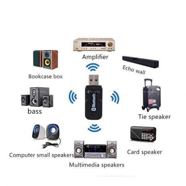 USB Bluetoothаудио приемник и адаптер CA106 8