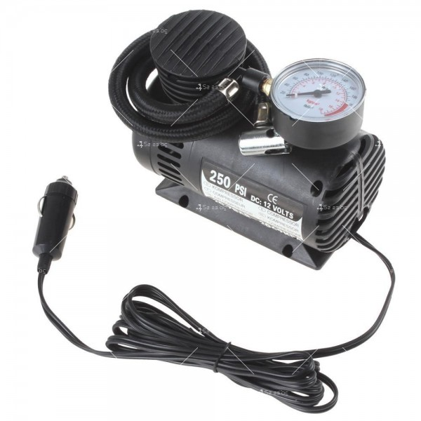 Мини компресор за помпане на гуми с високо налягане 1