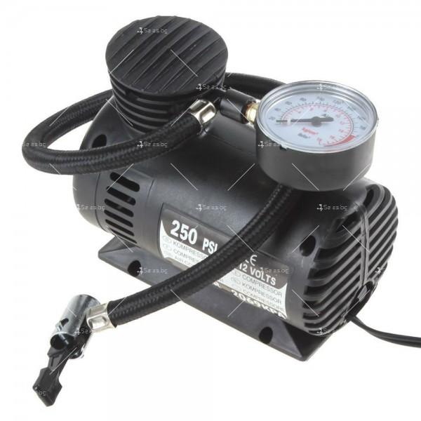 Мини компресор за помпане на гуми с високо налягане 2