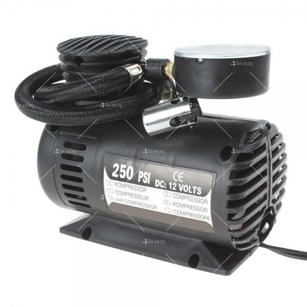 Мини компресор за помпане на гуми с високо налягане 4