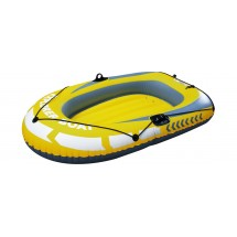 Надуваема лодка с гребла и помпа в два модела