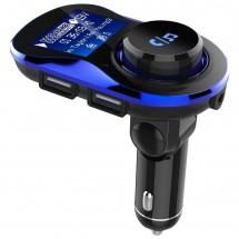 Bluetooth трансмитер за автомобил с подвижен корпус, USB изход и TF ВС28 HF26