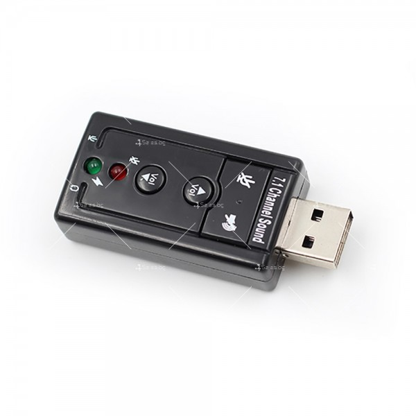 Външна звукова карта с USB CA60 7
