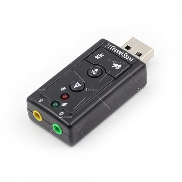 Външна звукова карта с USB CA60 9