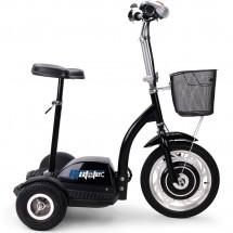 Триколка с електрическо задвижване и кош за багаж