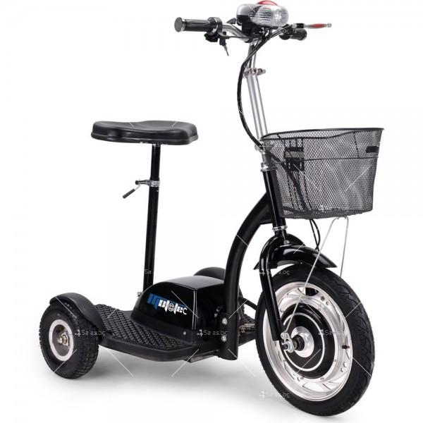 Триколка с електрическо задвижване и кош за багаж TRIKOKA3B 2
