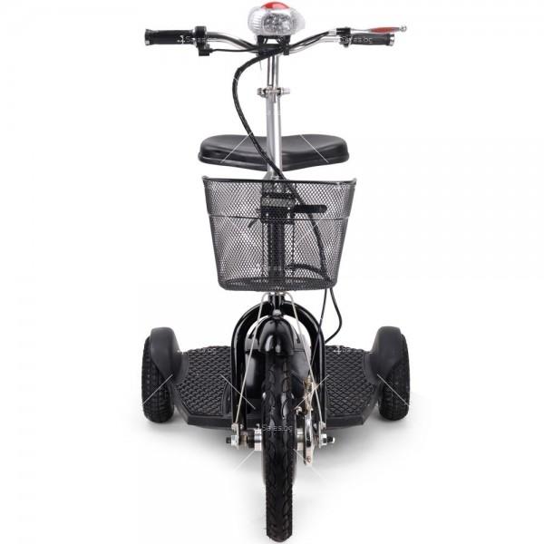 Триколка с електрическо задвижване и кош за багаж TRIKOKA3B 3