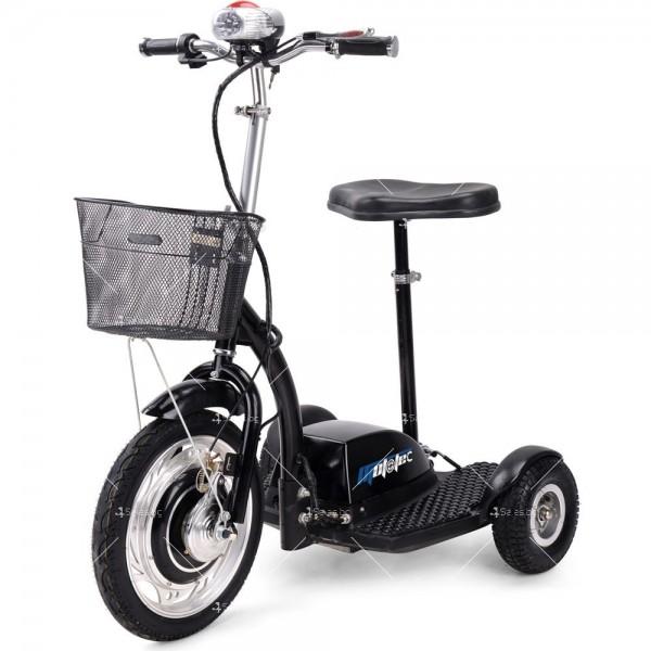 Триколка с електрическо задвижване и кош за багаж TRIKOKA3B 4