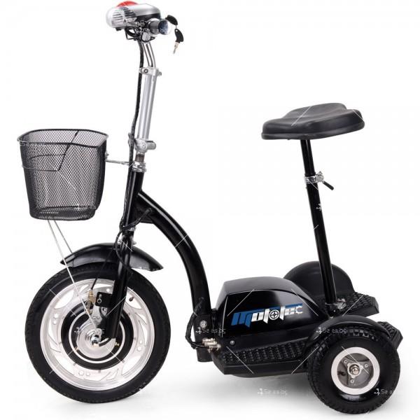 Триколка с електрическо задвижване и кош за багаж TRIKOKA3B 5
