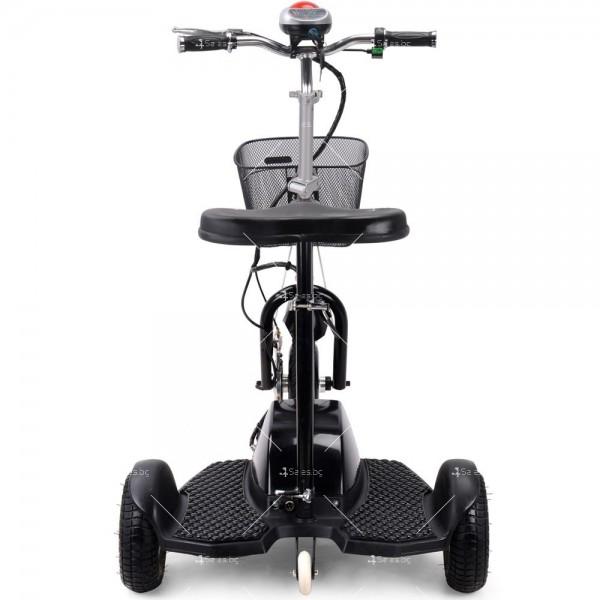 Триколка с електрическо задвижване и кош за багаж TRIKOKA3B 6