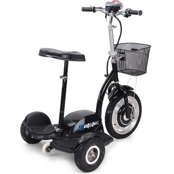 Триколка с електрическо задвижване и кош за багаж TRIKOKA3B 7