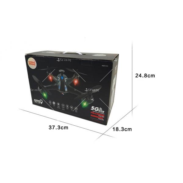 Мултифункционален дрон с 5 G трансмисия, Follow Me функция и HD камера GW198 5