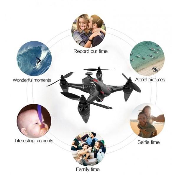 Мултифункционален дрон с 5 G трансмисия, Follow Me функция и HD камера GW198 12