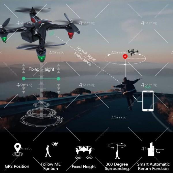 Мултифункционален дрон с 5 G трансмисия, Follow Me функция и HD камера GW198 13