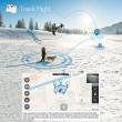 Мултифункционален дрон с 5 G трансмисия, Follow Me функция и HD камера GW198 15