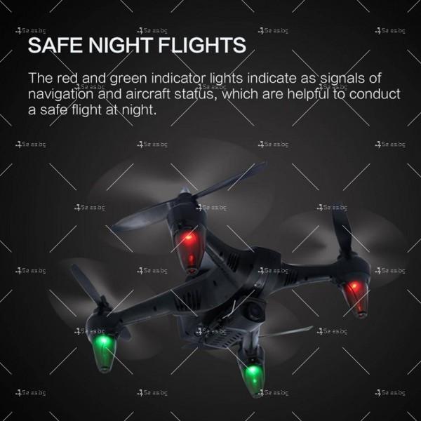Мултифункционален дрон с 5 G трансмисия, Follow Me функция и HD камера GW198 20