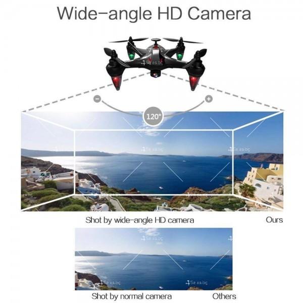 Мултифункционален дрон с 5 G трансмисия, Follow Me функция и HD камера GW198 23