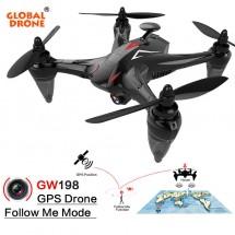 Мултифункционален дрон с 5 G трансмисия, Follow Me функция и HD камера GW198