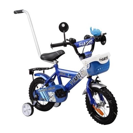Детски велосипед с помощни колела